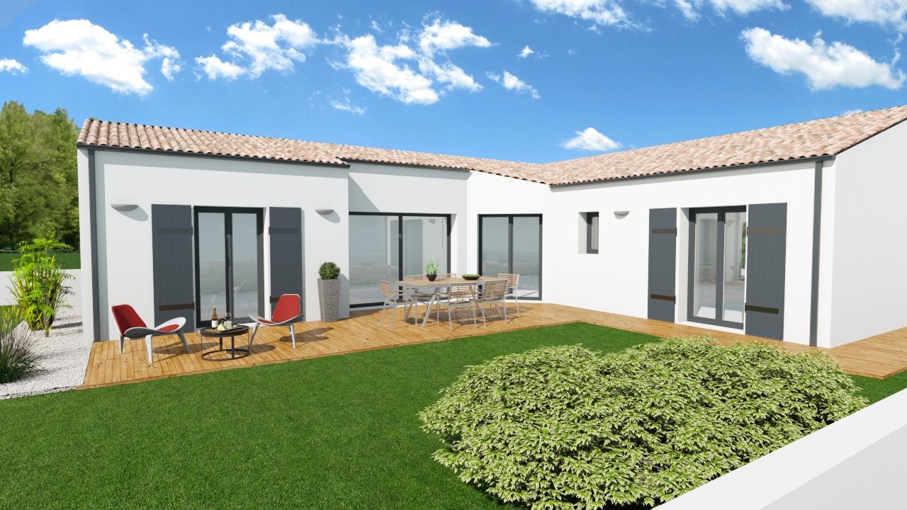 Maisons + Terrains du constructeur MAISONS ARLOGIS ROCHEFORT • 121 m² • CIRE D'AUNIS