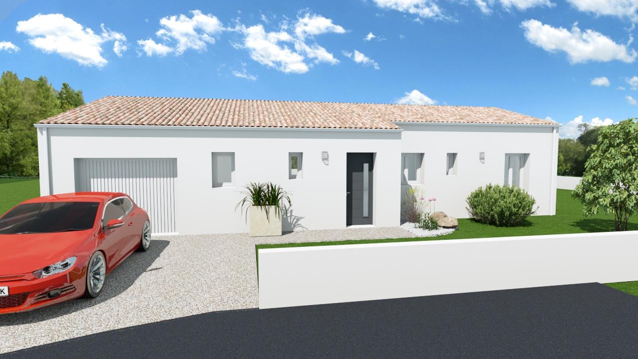 Maisons + Terrains du constructeur MAISONS ARLOGIS ROCHEFORT • TONNAY CHARENTE