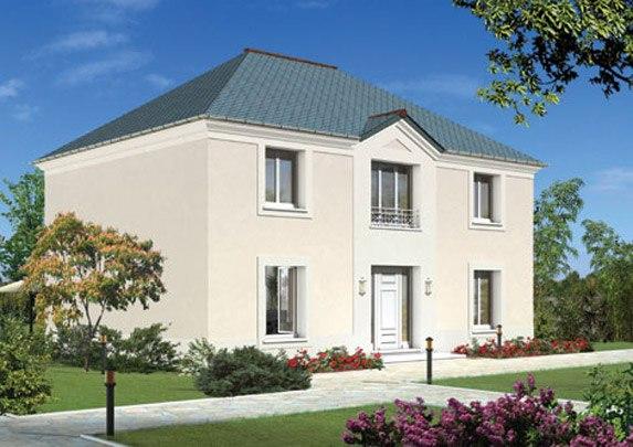 Maisons + Terrains du constructeur MAISON FAMILIALE MAREUIL LES MEAUX • 98 m² • BRIE COMTE ROBERT