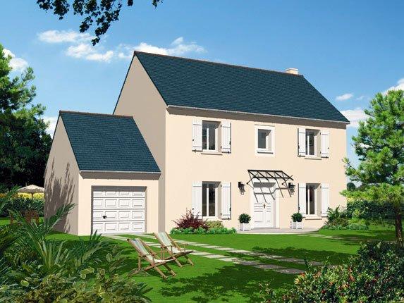 Maisons + Terrains du constructeur MAISON FAMILIALE MAREUIL LES MEAUX • 110 m² • LISSY