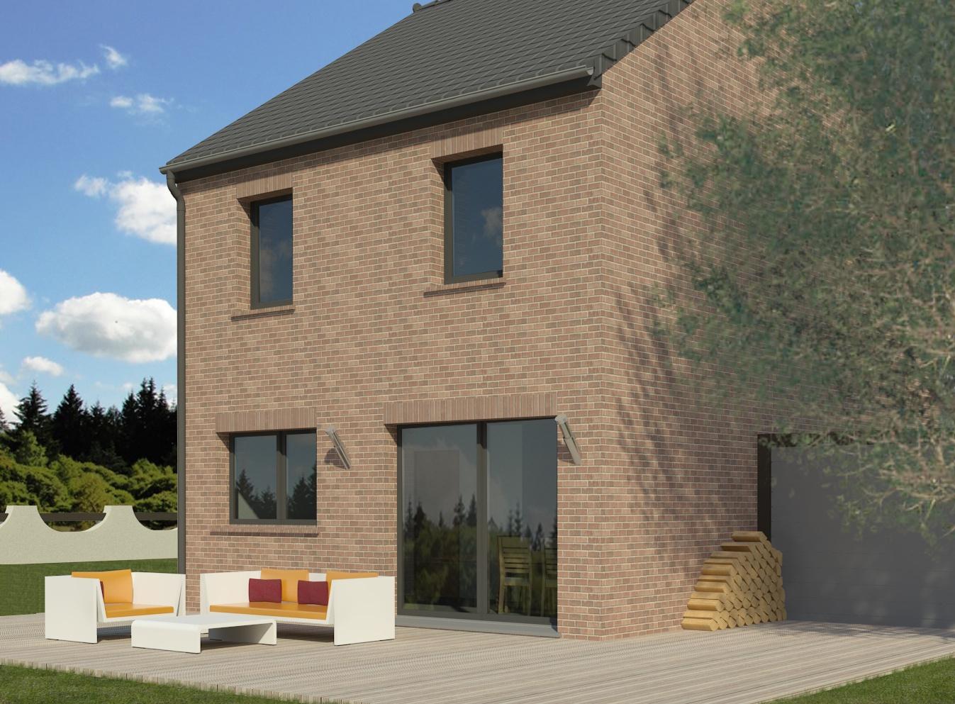 Maisons + Terrains du constructeur MAISON FAMILIALE MAREUIL LES MEAUX • 110 m² • MOUROUX