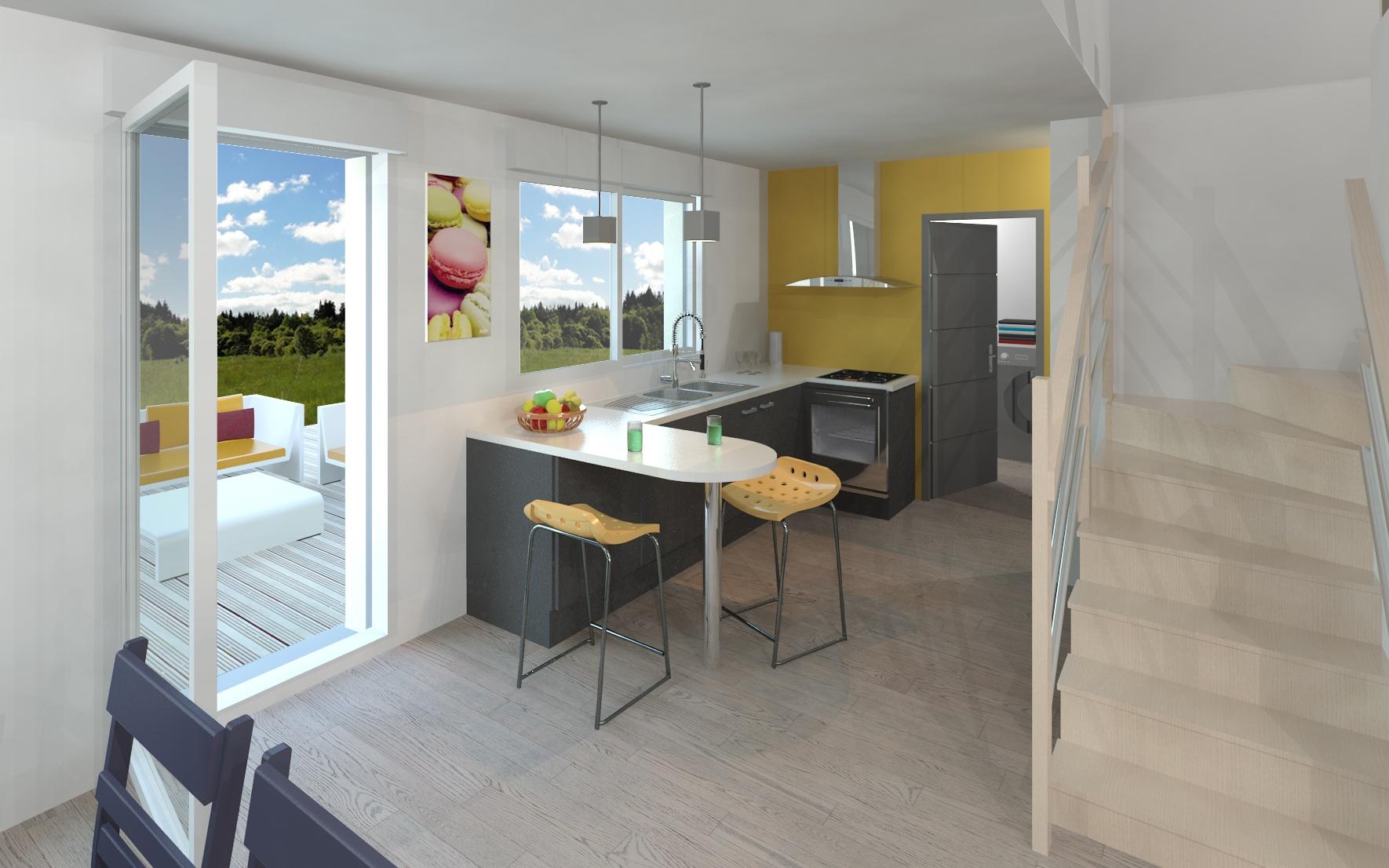 Maisons + Terrains du constructeur MAISON FAMILIALE • 118 m² • CHAMBRY