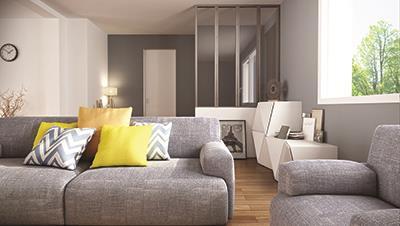 Maisons + Terrains du constructeur MAISON FAMILIALE MAREUIL LES MEAUX • 106 m² • LES CHAPELLES BOURBON