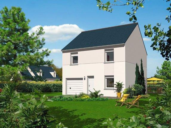 Maisons + Terrains du constructeur MAISON FAMILIALE • 90 m² • DAMMARTIN EN GOELE