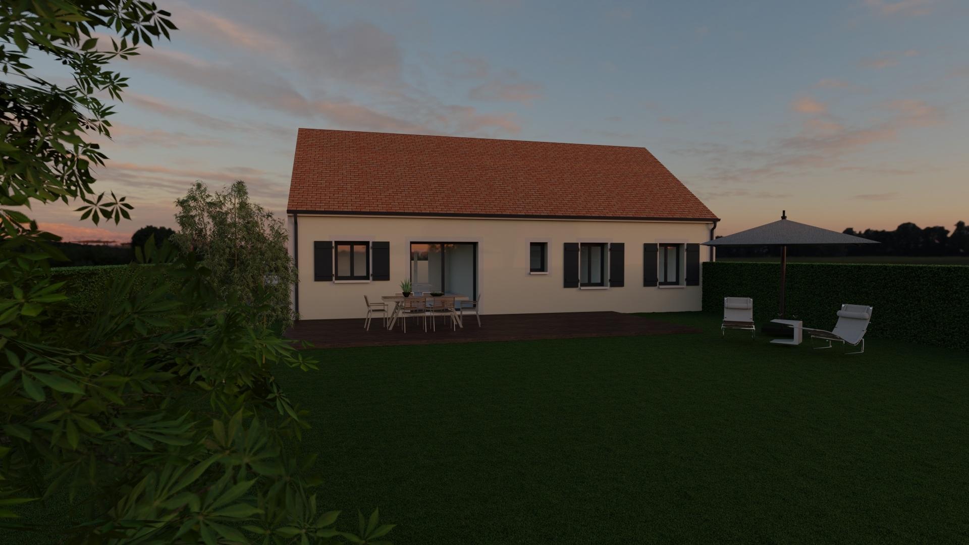 Maisons + Terrains du constructeur MAISON FAMILIALE • 87 m² • MONTGE EN GOELE