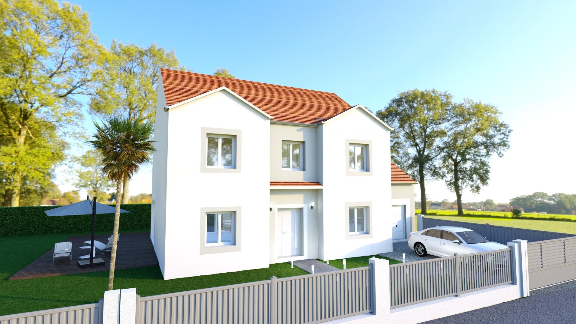 Maisons + Terrains du constructeur MAISON FAMILIALE • 150 m² • REBAIS