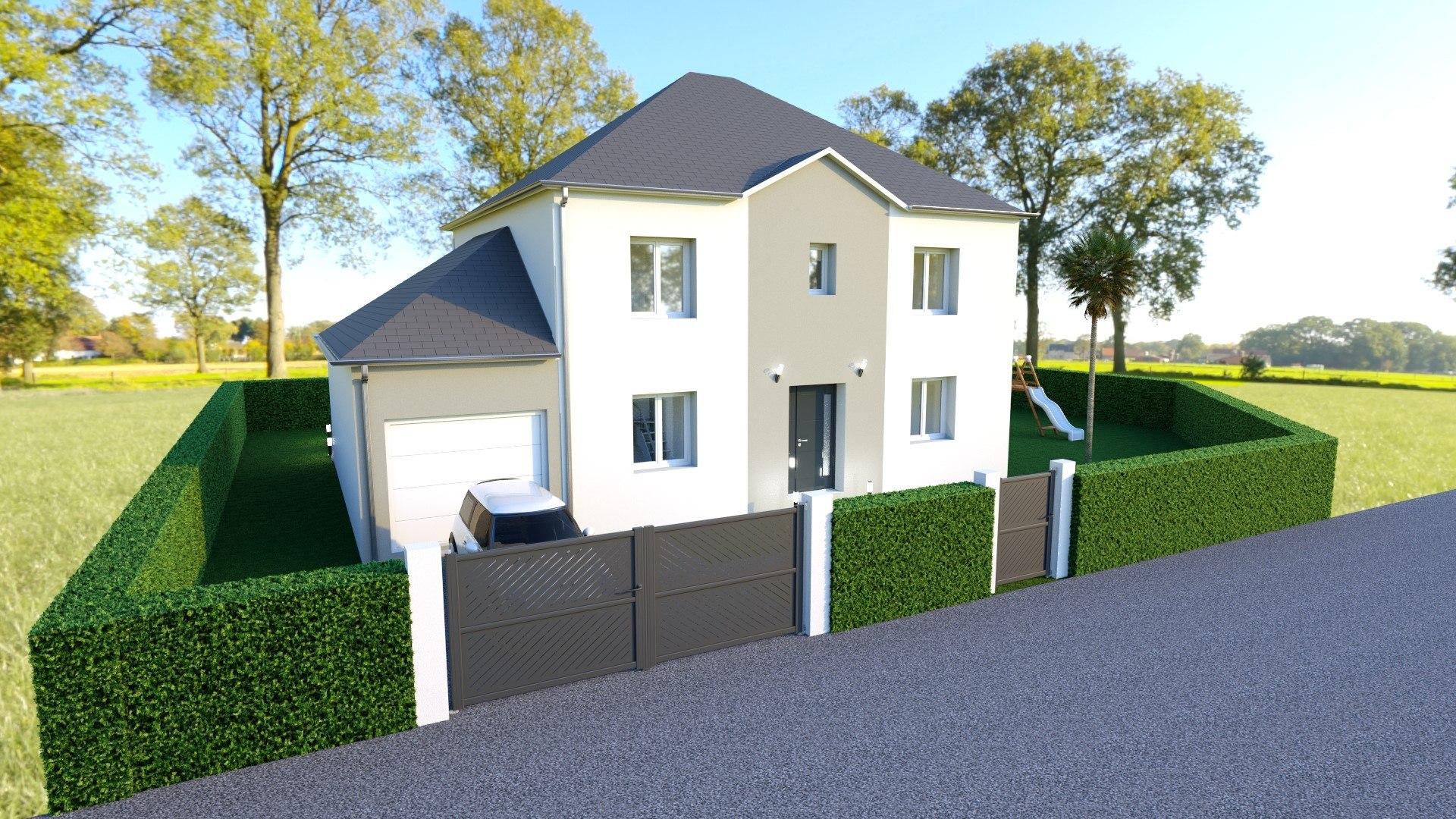 Maisons + Terrains du constructeur MAISON FAMILIALE • 130 m² • FUBLAINES