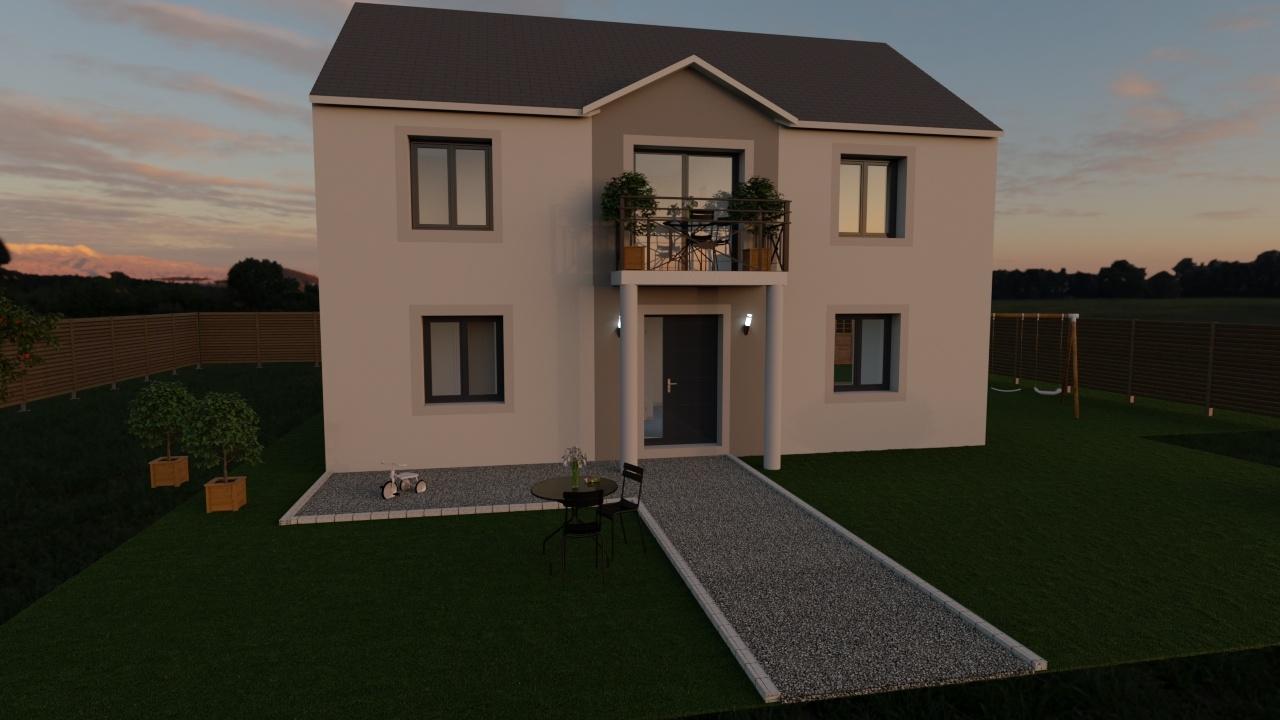 Maisons + Terrains du constructeur MAISON FAMILIALE • 130 m² • MAREUIL LES MEAUX