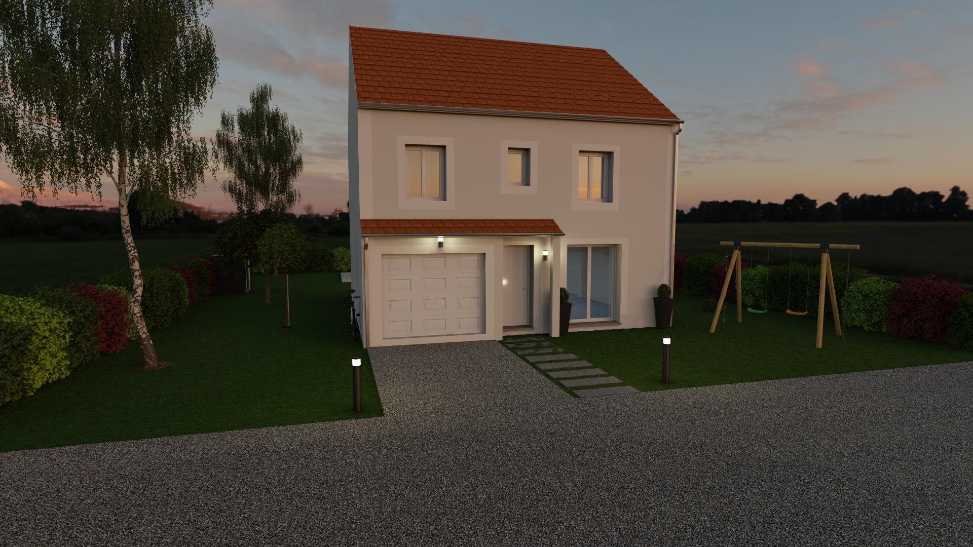 Maisons + Terrains du constructeur MAISON FAMILIALE • 105 m² • LA FERTE SOUS JOUARRE
