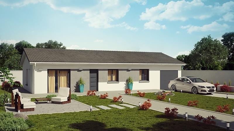 Maisons + Terrains du constructeur DEMEURES CALADOISES • 95 m² • MONTROND LES BAINS