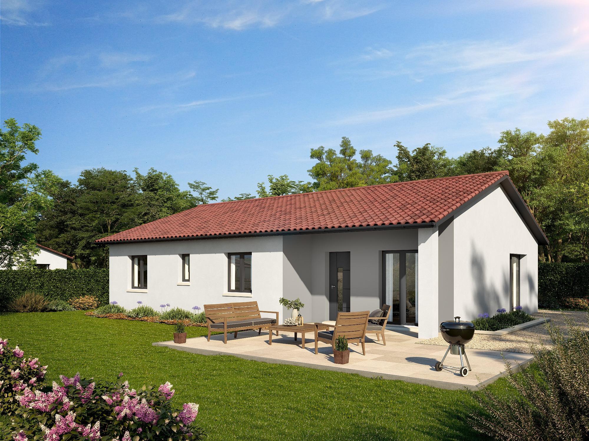 Maisons + Terrains du constructeur DEMEURES CALADOISES • 89 m² • SURY LE COMTAL