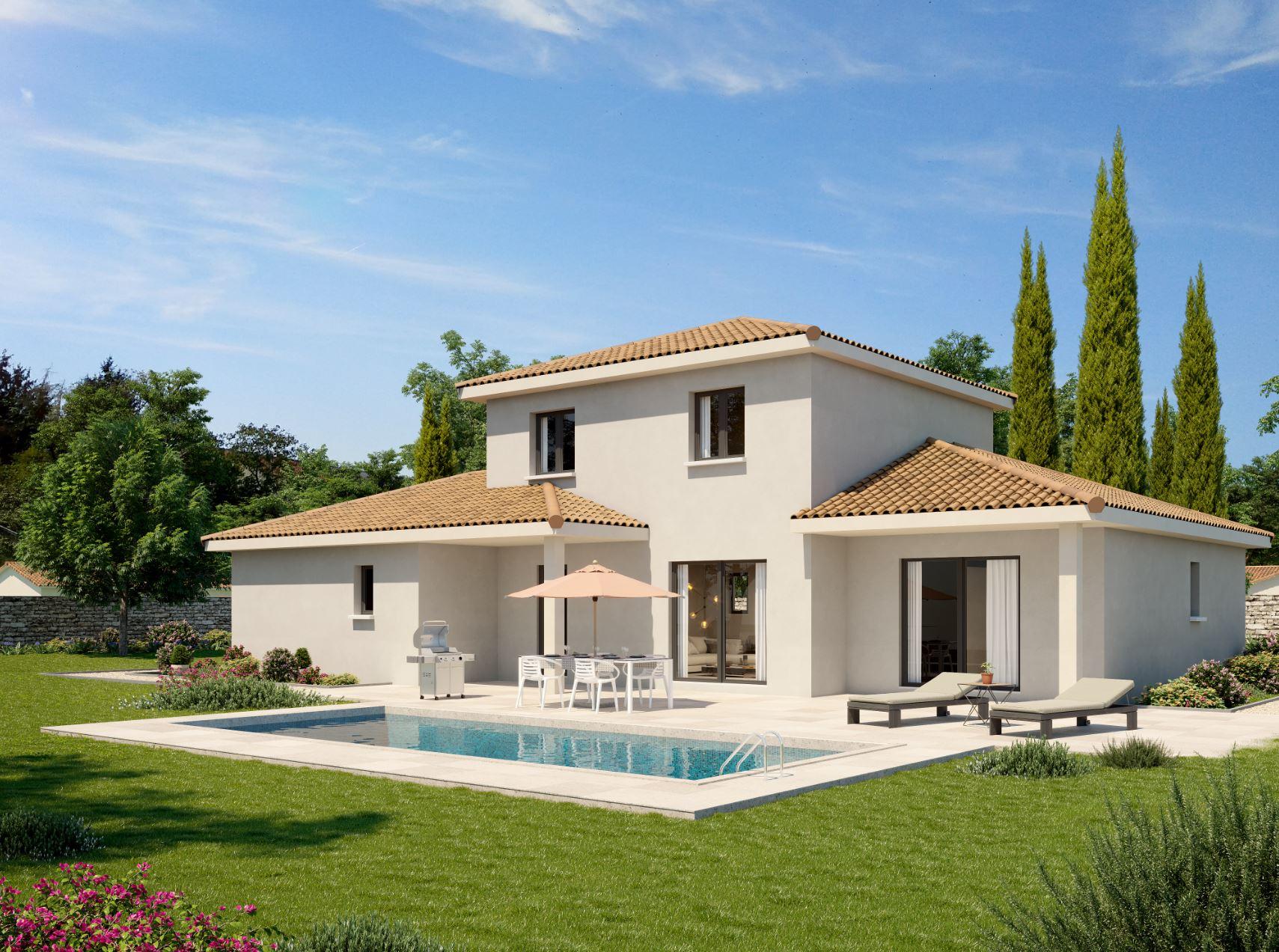 Maisons + Terrains du constructeur DEMEURES CALADOISES • 120 m² • MONTBRISON
