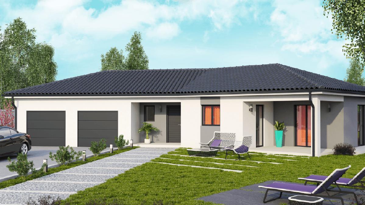 Maisons + Terrains du constructeur DEMEURES CALADOISES • 114 m² • SAINT MARTIN LA PLAINE