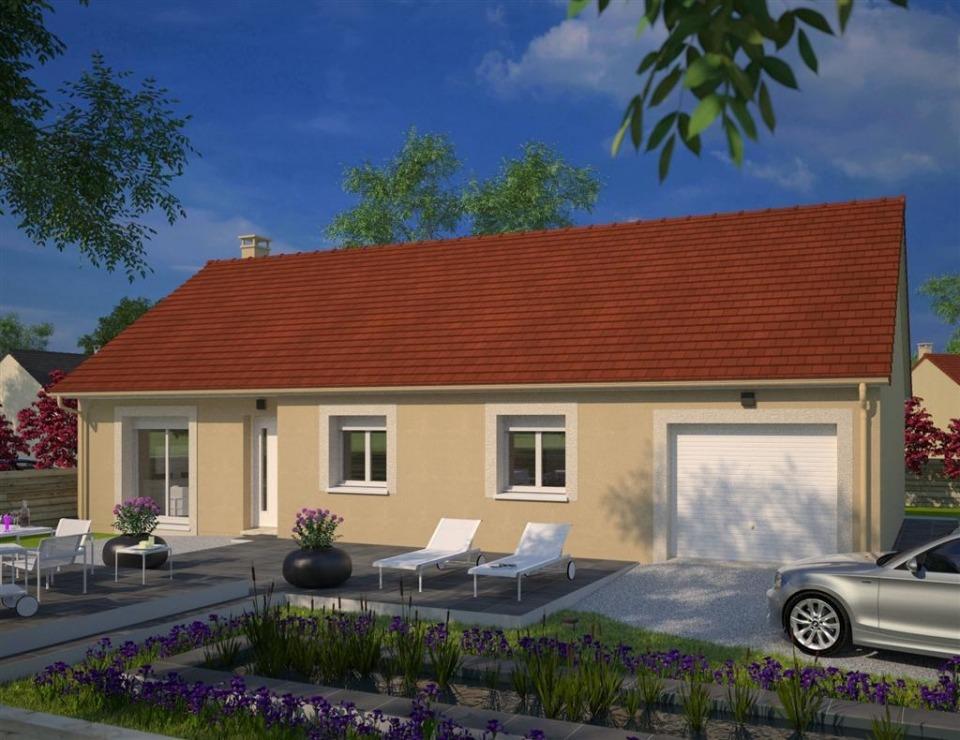 Maisons + Terrains du constructeur MAISONS FRANCE CONFORT • 92 m² • SARRY