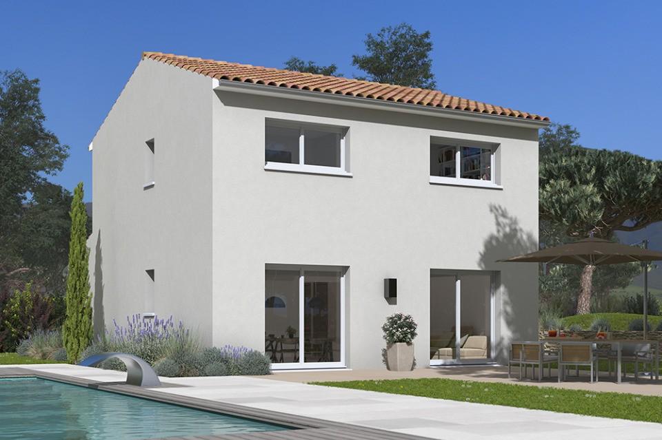 Maisons + Terrains du constructeur MAISONS FRANCE CONFORT • 85 m² • MONS