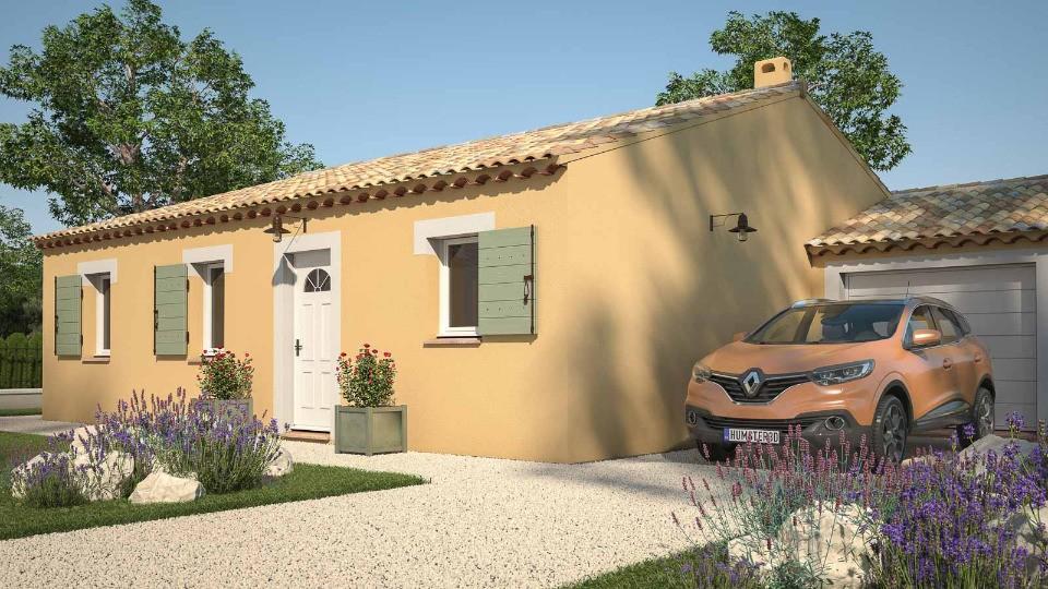 Maisons + Terrains du constructeur MAISONS FRANCE CONFORT • 74 m² • CALVISSON