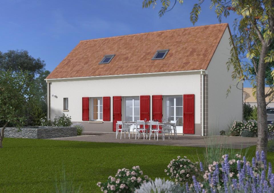 Maisons + Terrains du constructeur Maisons France Confort • 80 m² • MELUN