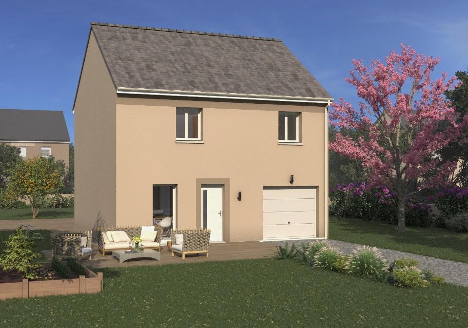 Maisons + Terrains du constructeur Maisons France Confort • 89 m² • VERNEUIL L'ETANG