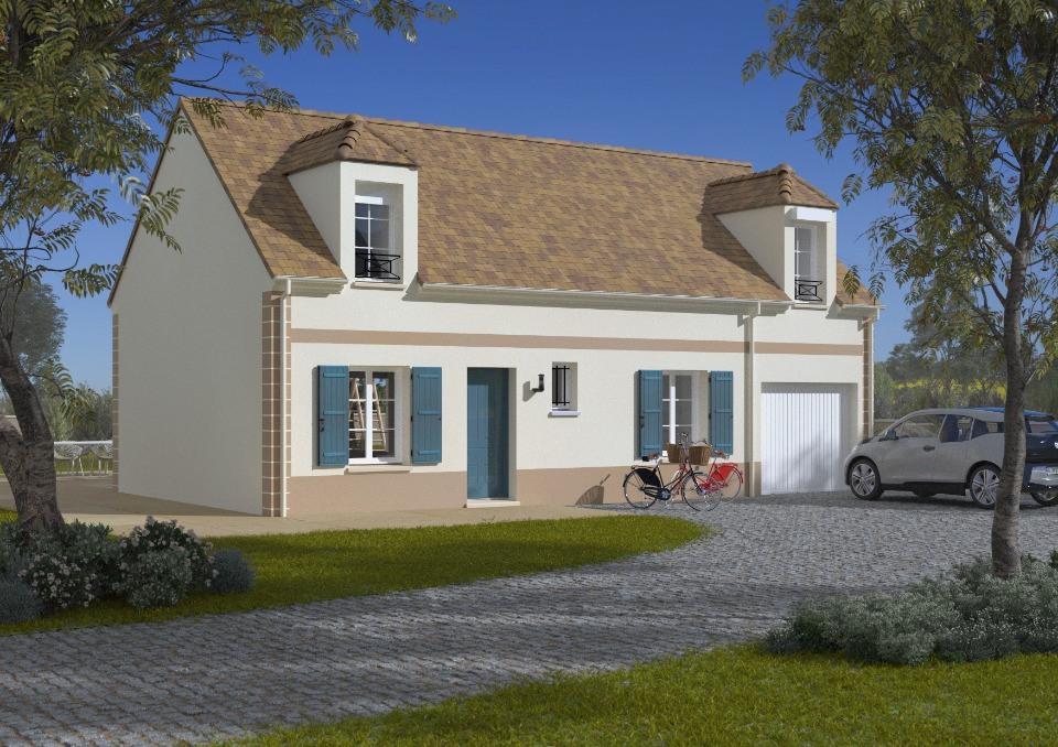 Maisons + Terrains du constructeur Maisons France Confort • 90 m² • LA HOUSSAYE EN BRIE
