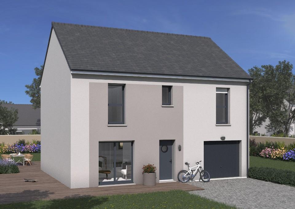 Maisons + Terrains du constructeur Maisons France Confort • 109 m² • SOLERS