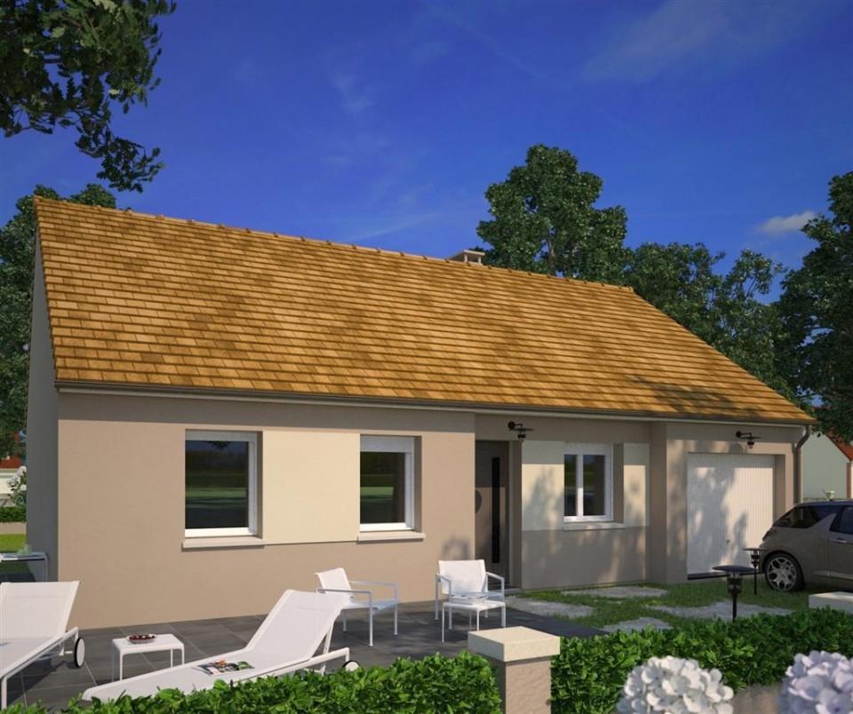 Maisons + Terrains du constructeur Maisons France Confort-maisons-france-confort • 75 m² • ECOMMOY