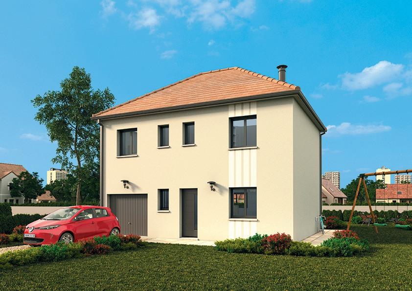 Maisons + Terrains du constructeur MAISONS FRANCE CONFORT • 109 m² • JOUARS PONTCHARTRAIN