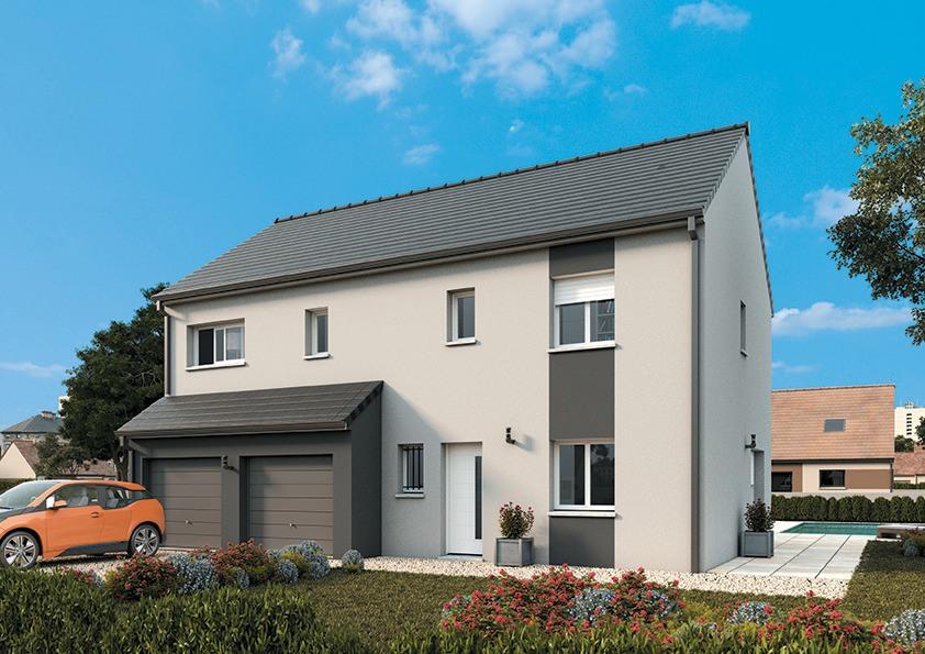 Maisons + Terrains du constructeur MAISONS FRANCE CONFORT • 110 m² • MERE