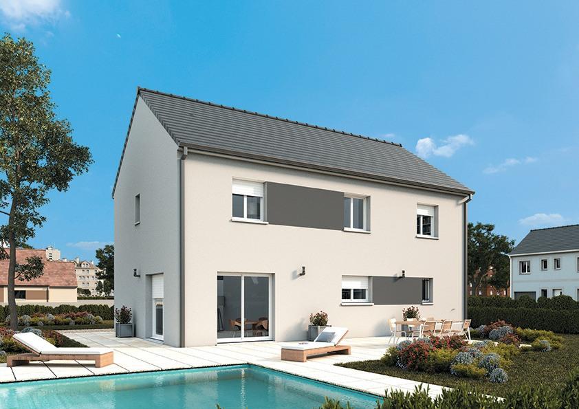 Maisons + Terrains du constructeur MAISONS FRANCE CONFORT • 130 m² • ORGEVAL