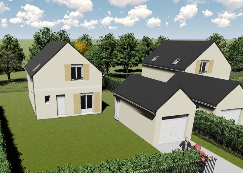 Maisons + Terrains du constructeur MAISONS FRANCE CONFORT • 99 m² • TACOIGNIERES