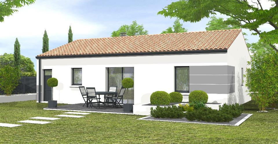 Maisons + Terrains du constructeur LMP CONSTRUCTEUR • 81 m² • SALLERTAINE