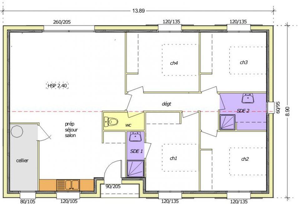 Maisons + Terrains du constructeur LMP CONSTRUCTEUR • 103 m² • APREMONT