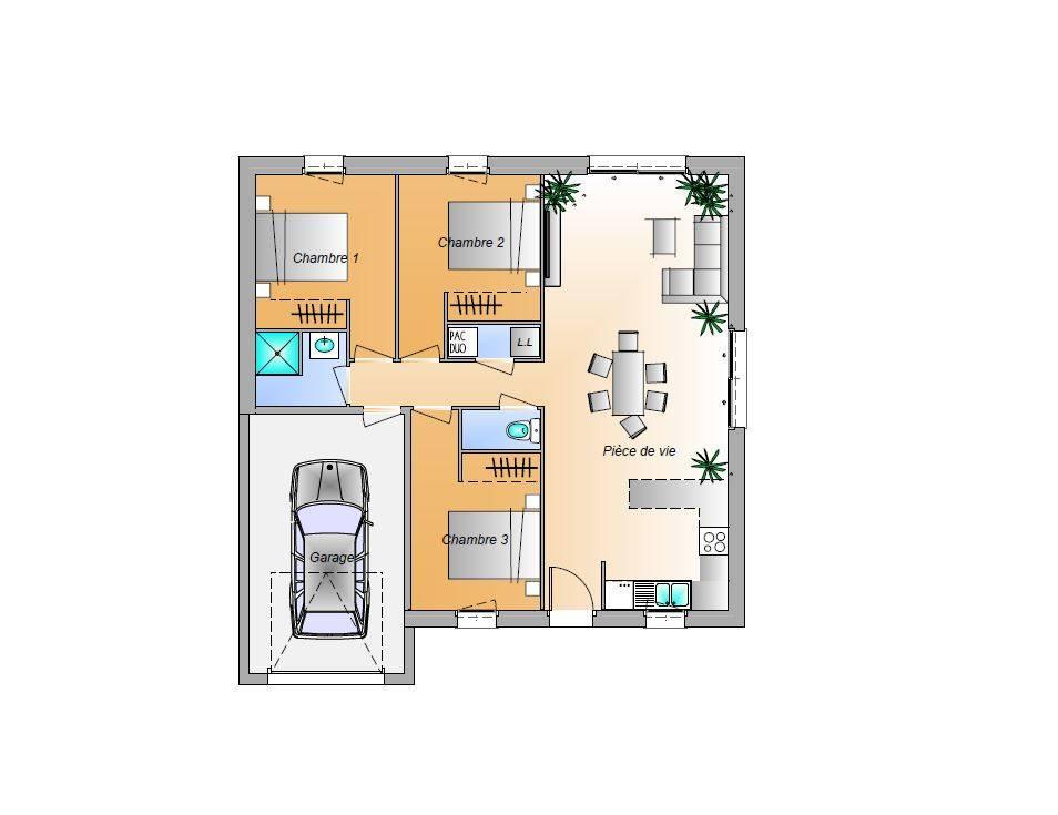 Maisons + Terrains du constructeur LMP CONSTRUCTEUR • 72 m² • CHALLANS