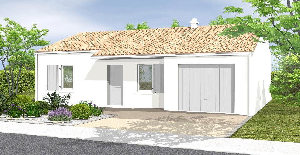 Maisons + Terrains du constructeur LMP CONSTRUCTEUR • 67 m² • MACHE