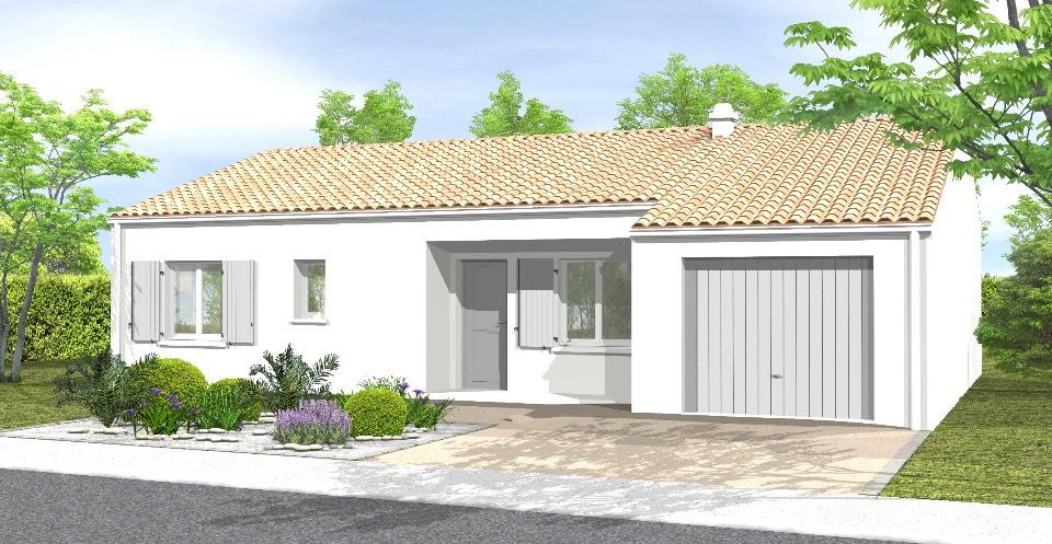 Maisons + Terrains du constructeur LMP CONSTRUCTEUR • 84 m² • MACHE