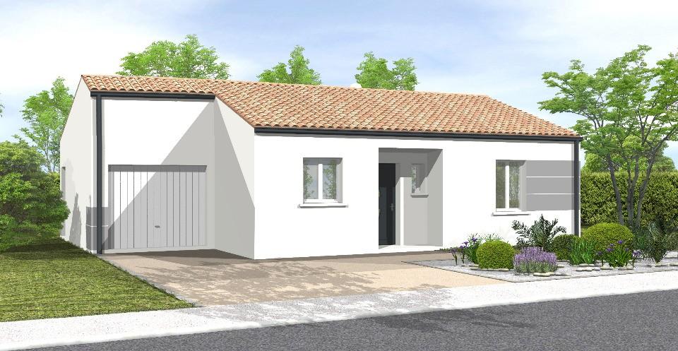 Maisons + Terrains du constructeur LMP CONSTRUCTEUR • 62 m² • BOIS DE CENE