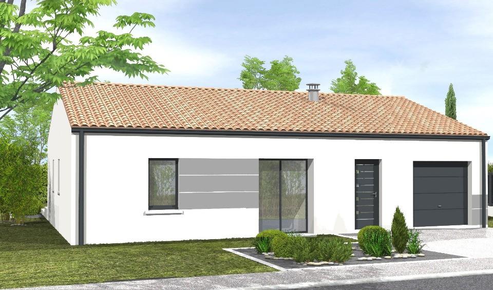 Maisons + Terrains du constructeur LMP CONSTRUCTEUR • 70 m² • CHATEAUNEUF