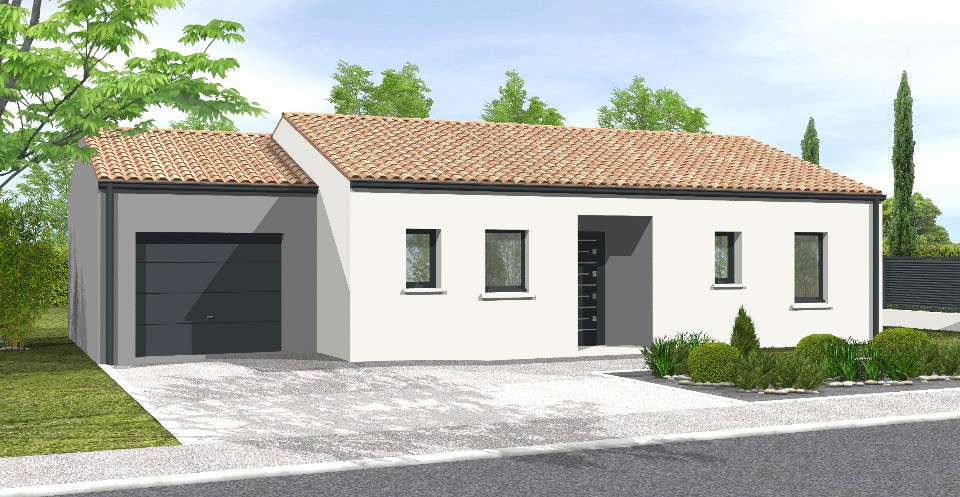 Maisons + Terrains du constructeur LMP CONSTRUCTEUR • 103 m² • SAINT REVEREND