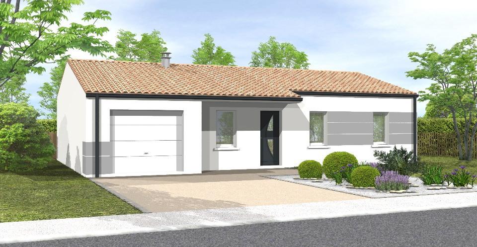 Maisons + Terrains du constructeur LMP CONSTRUCTEUR • 81 m² • BOUIN