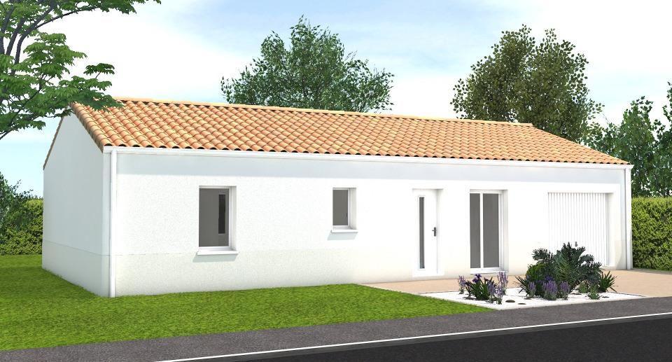 Maisons + Terrains du constructeur LMP CONSTRUCTEUR • 80 m² • SAINT URBAIN