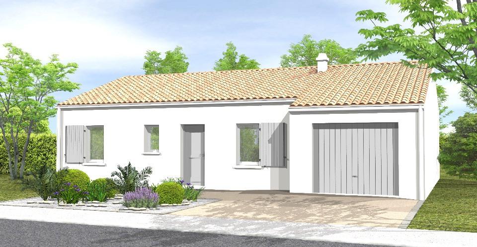 Maisons + Terrains du constructeur LMP CONSTRUCTEUR • 79 m² • SAINT FLORENT DES BOIS