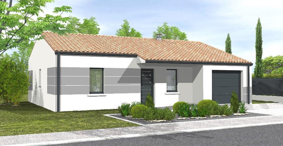 Maisons + Terrains du constructeur LMP CONSTRUCTEUR • 81 m² • SAINT FLORENT DES BOIS