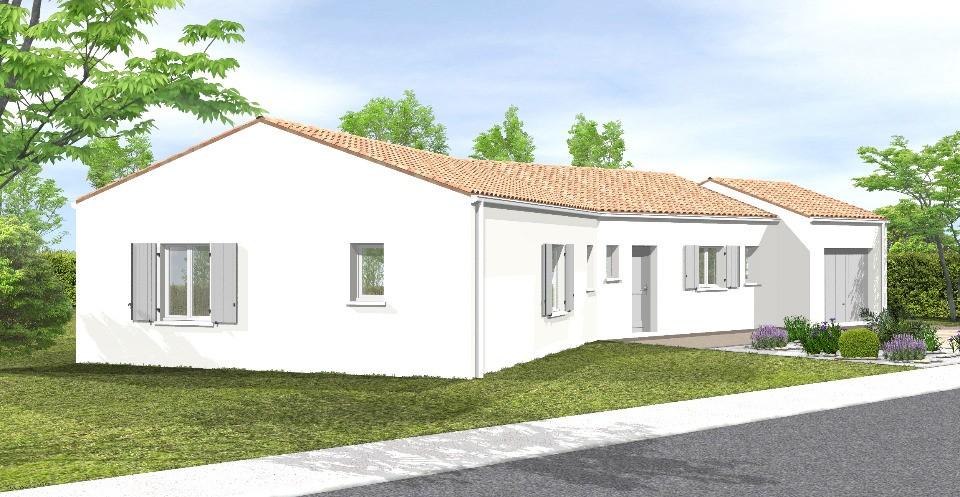 Maisons + Terrains du constructeur LMP CONSTRUCTEUR • 83 m² • LANDERONDE