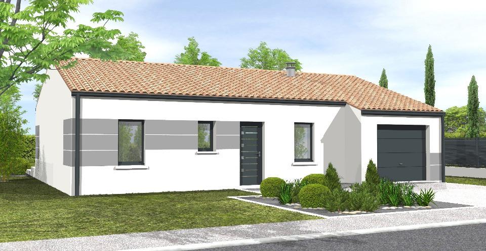 Maisons + Terrains du constructeur LMP CONSTRUCTEUR • 90 m² • LANDERONDE