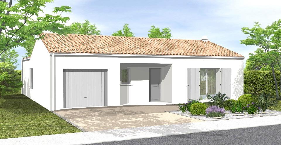 Maisons + Terrains du constructeur LMP CONSTRUCTEUR • 104 m² • LANDERONDE
