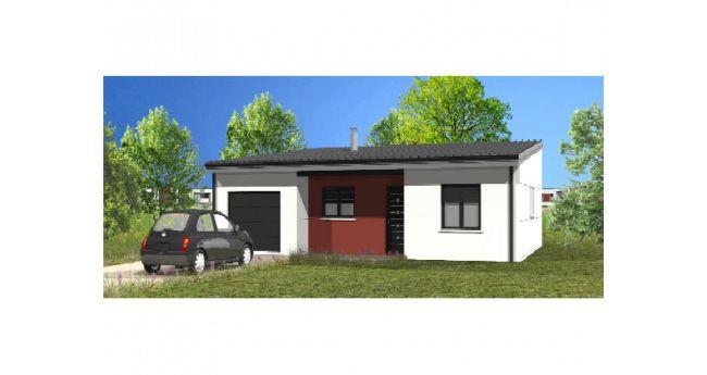 Maisons + Terrains du constructeur LMP CONSTRUCTEUR • 72 m² • LANDERONDE