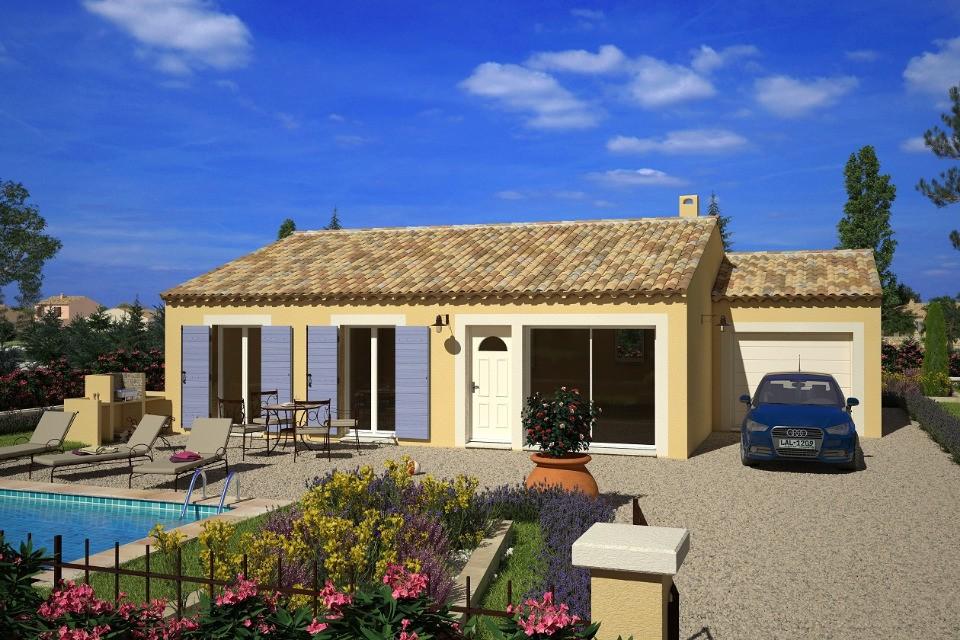 Maisons + Terrains du constructeur LMP CONSTRUCTEUR • 94 m² • LANDERONDE
