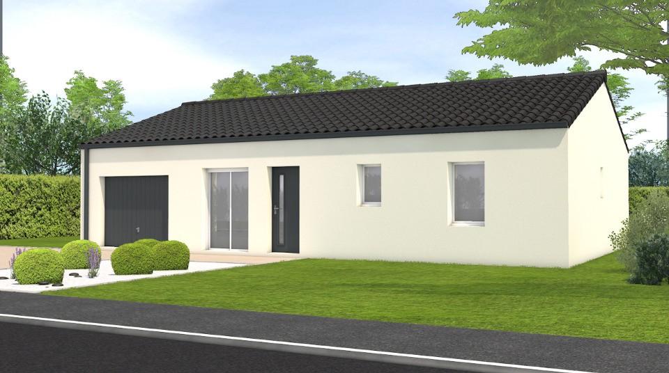 Maisons + Terrains du constructeur LMP CONSTRUCTEUR • 79 m² • LA CHAIZE LE VICOMTE