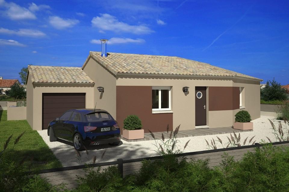 Maisons + Terrains du constructeur LMP CONSTRUCTEUR • 91 m² • CHAMPAGNE LES MARAIS