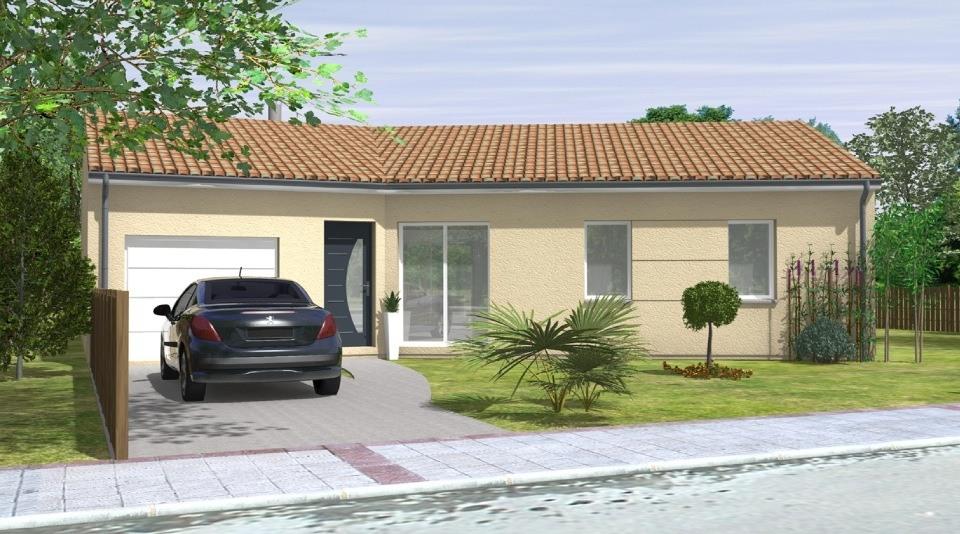 Maisons + Terrains du constructeur LMP CONSTRUCTEUR • 90 m² • JARD SUR MER