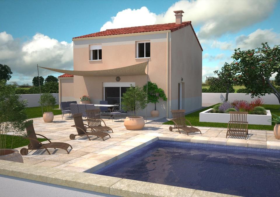 Maisons + Terrains du constructeur LMP CONSTRUCTEUR • 90 m² • CHAMPAGNE LES MARAIS